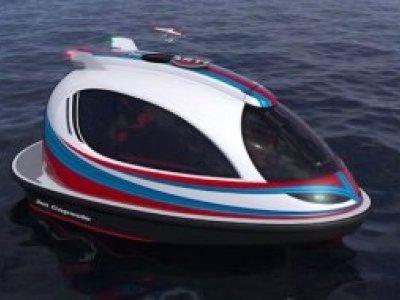 NEW BUILD - 7.35m Jet Capsule Boat