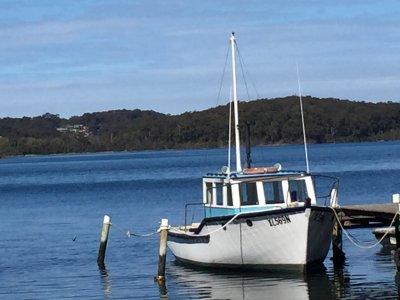 "Traditional Ex Trawler Motor Vessel CLASSIC TIMBER TRAWLER ""MV CATRINA"""