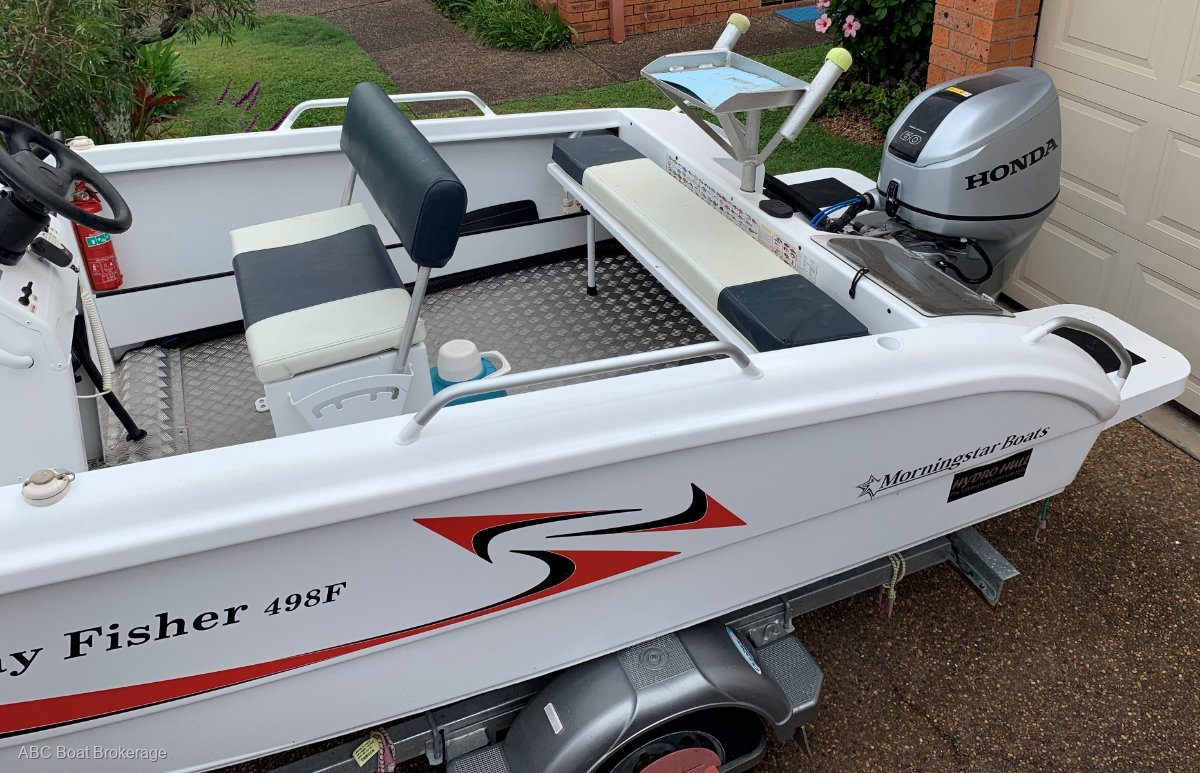Morningstar 498F Bay Fisher Excellent condition as new