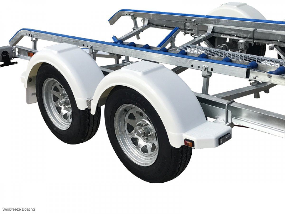 Boat trailer Galvanised C channel up to 5.7m Tandem