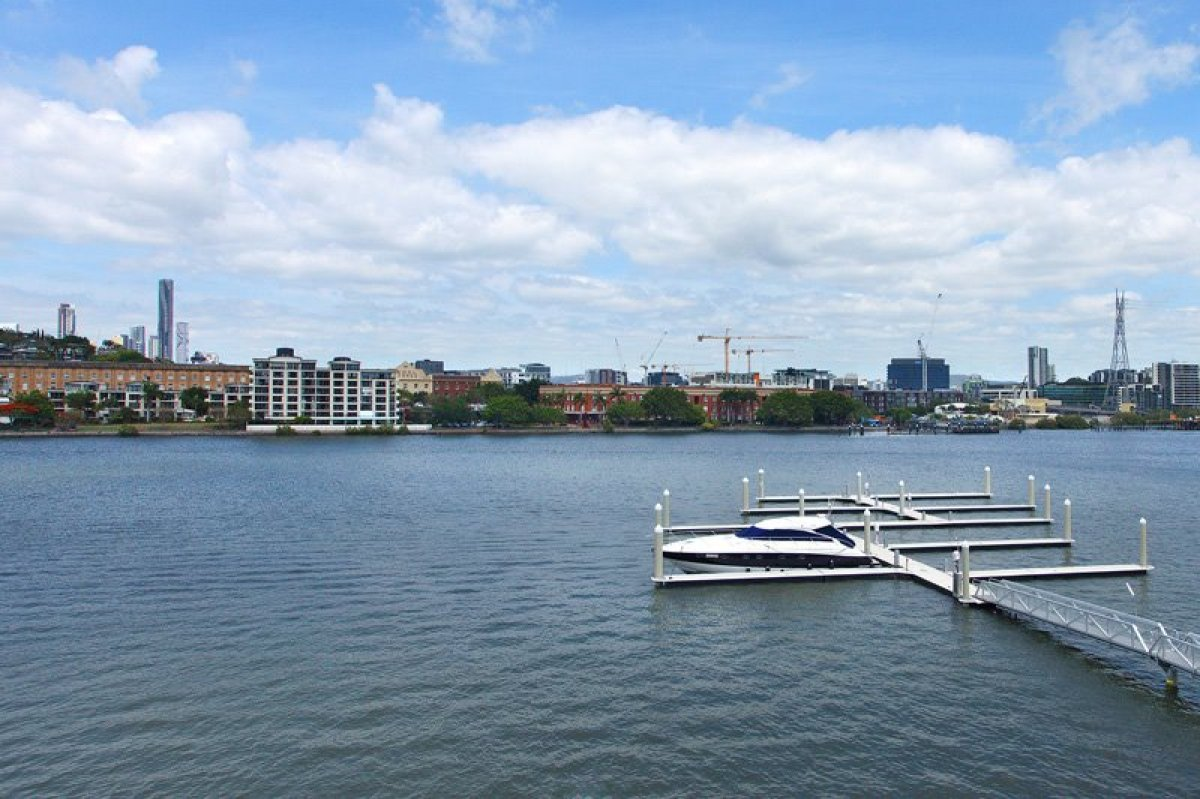 FOR SALE: 15m x 5m Marina Berth in Bulimba, BRISBANE