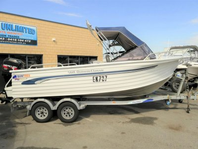 Quintrex 560 Quinnie Classic IN GREAT CONDITION ALLROUNDER- Click for more info...