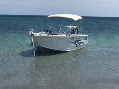 Quintrex 610 Freedom Sport Fantastic Conditon with 4 year Engine Warranty!!