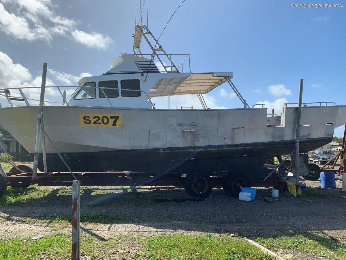 Curran Design 45ft Aluminium Cray Fishing Vessel