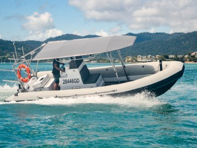 Zodiac Hurricane Hurricane 7.3m Inflatable RIB in survey