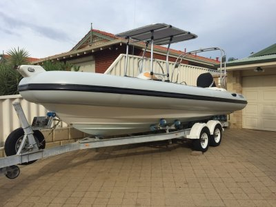 RIB 660 BRAND NEW WEST RIB TUBES- Click for more info...