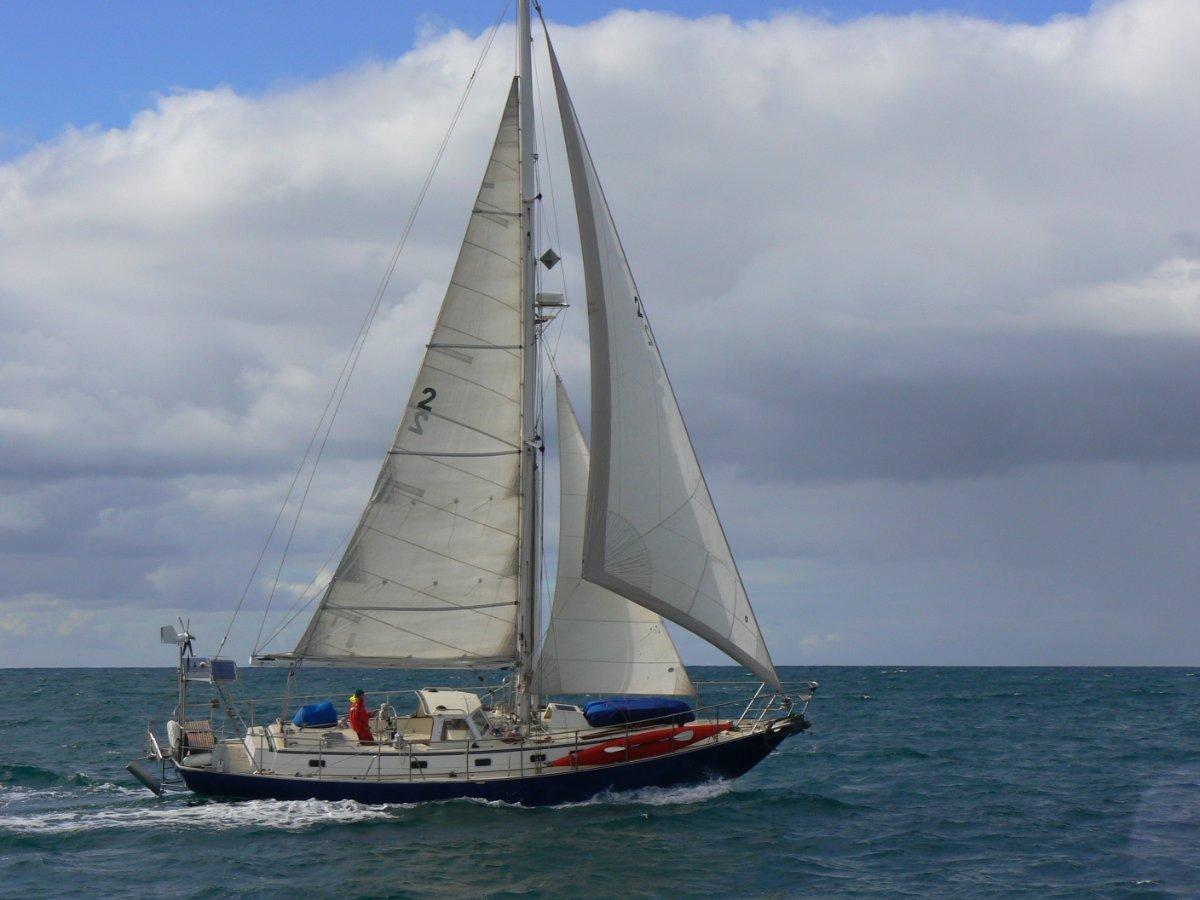 Alan Payne - Zeehaen -Cruising Yacht-Your Corona Free Escape!:Sailing off Kangaroo Island Sth Australia