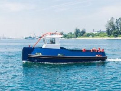 NEW BUILD - 9.5m Mooring / Multi-Role Boat