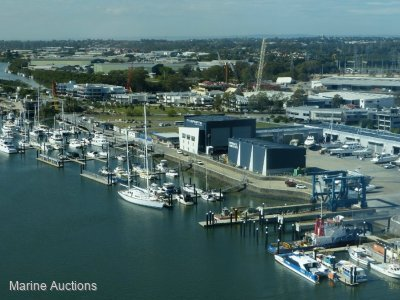 ONLINE AUCTION UNRESERVED - E6 15M MARINA BERTH AT RIVERGATE MARINA