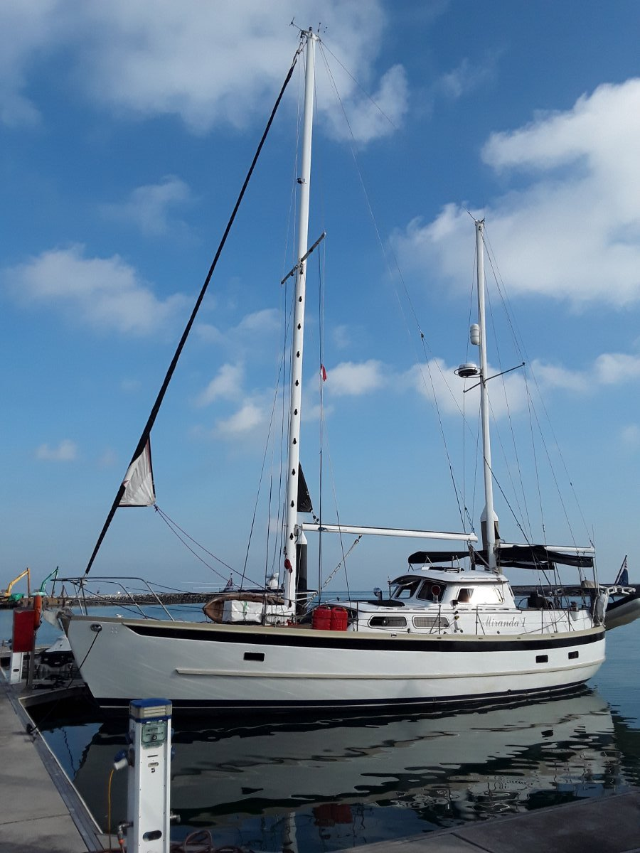Robert Perry Pilot house Long Distance Motor sailer. Malaysia:Robert Perry 43 motor sailor for sale in Langkawi