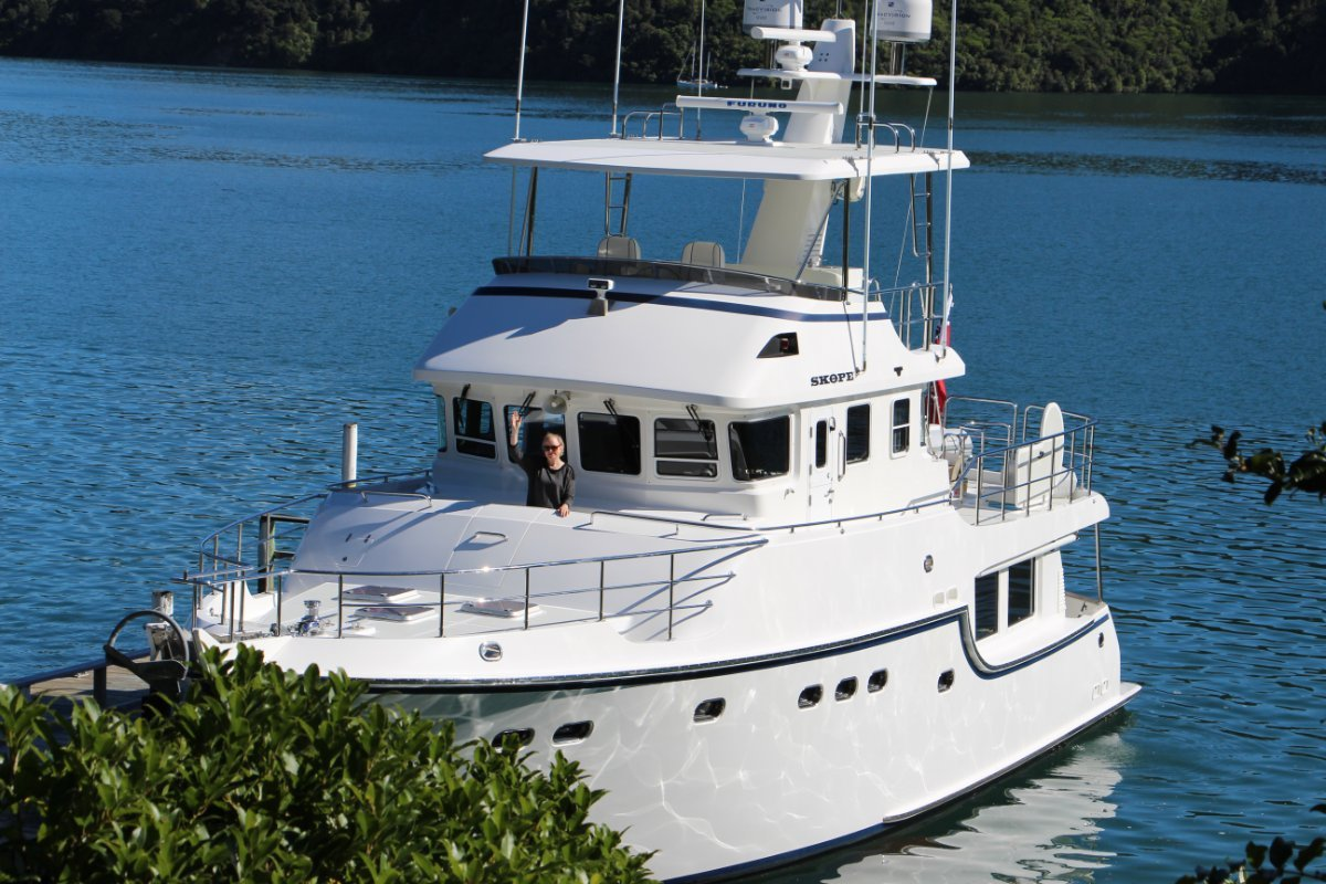 Nordhavn 55 Long Range Passagemaker