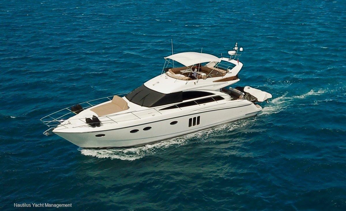 Princess 54 54 Flybridge Luxury Power Yacht. Fast Cruiser.
