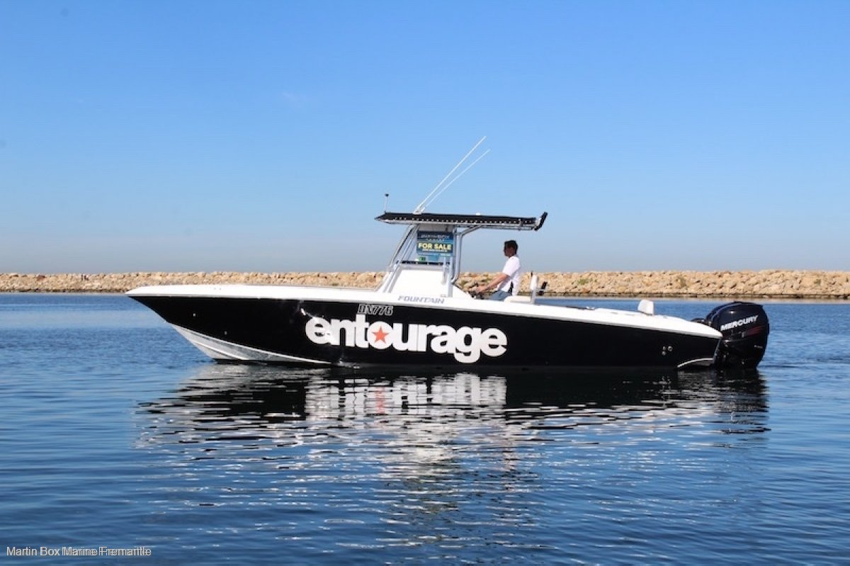 Fountain 32 with 2012 Mercury 350 Outboards