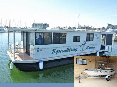 Custom Houseboat ** WITH 20k TENDER** $169,000 **