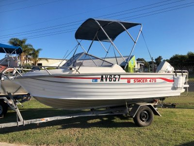 Stacer 475 Runabout with Johnson 60hp