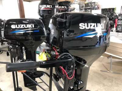 New Suzuki 40hp 2 stroke Tiller Handle