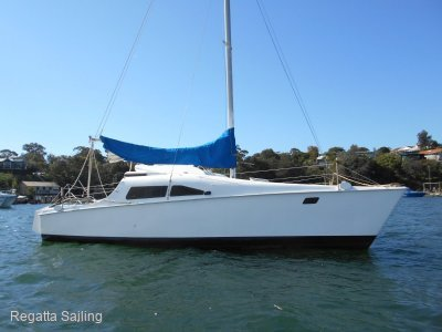 Freedom 8 catamaran recent survey cheap price trade in welco