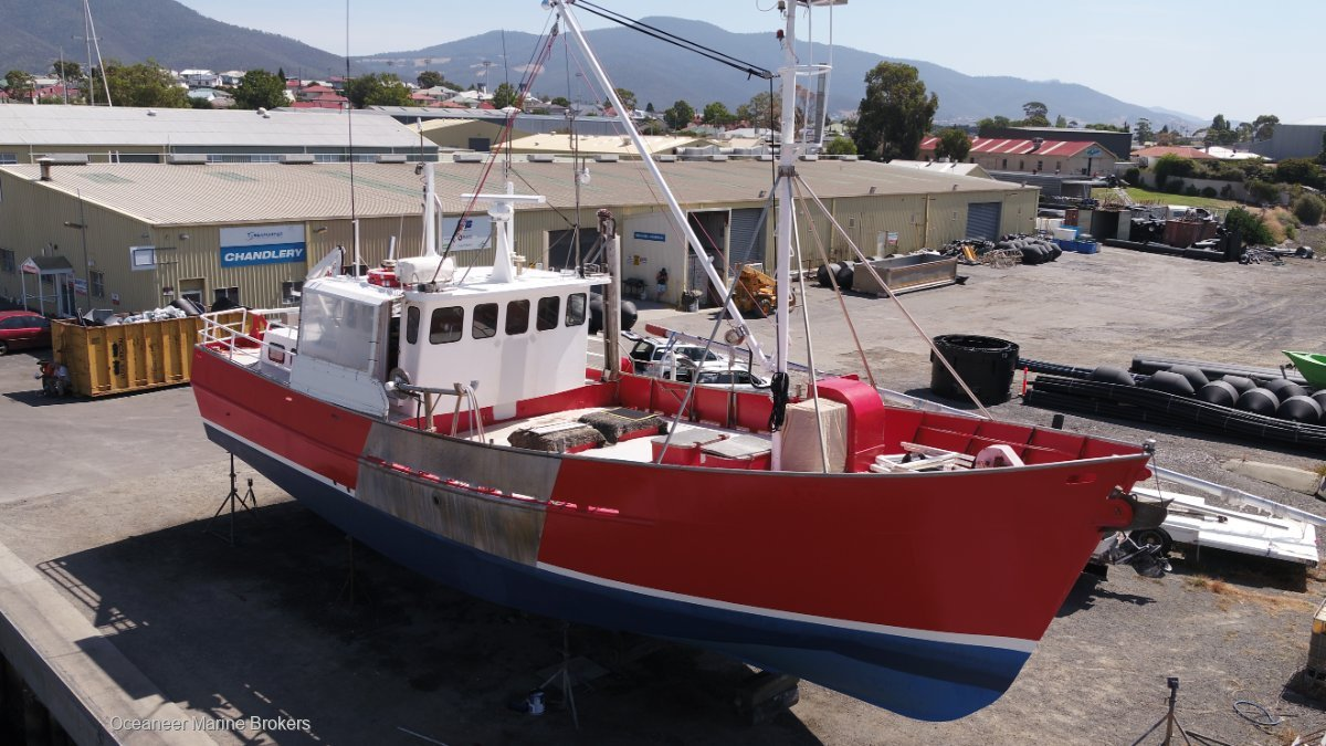 17.88m Steel Fishing Vessel