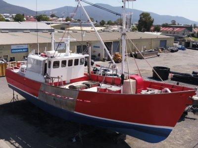17.88m Steel Fishing