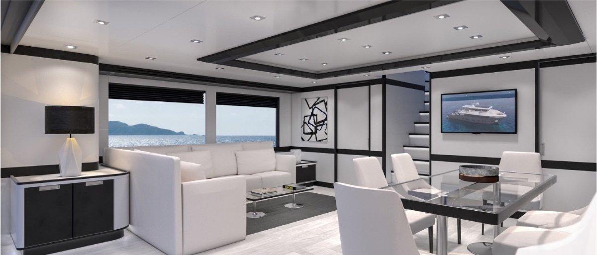 28mMotoryacht Expedition Style Long Range Cruiser