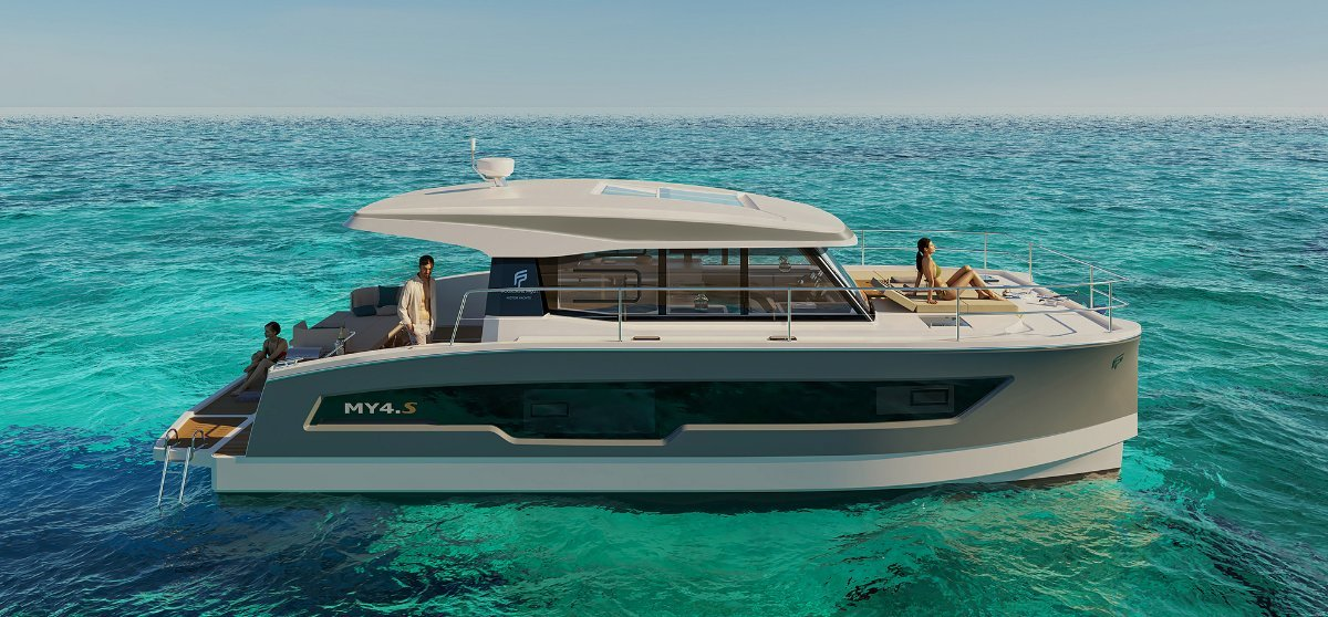 Fountaine Pajot MY4S New Model - Europe or local delivery