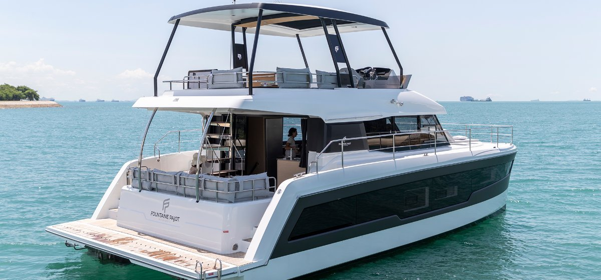Fountaine Pajot MY40 New Model - Europe or local delivery