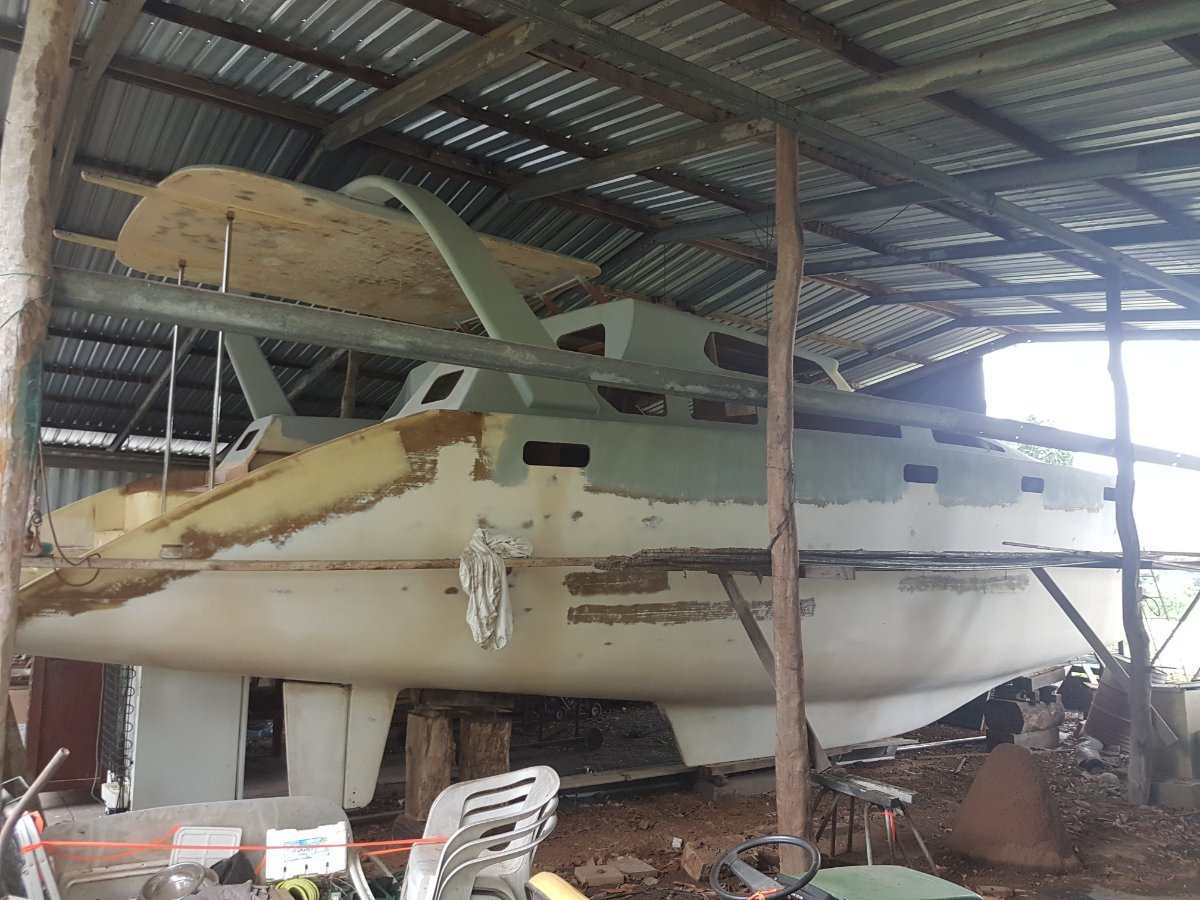 Brady 12m Catamaran Sunshine Coaster Incomplete