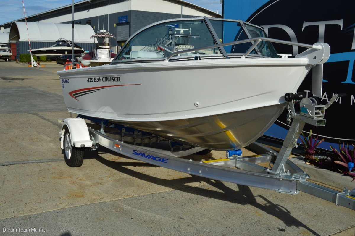 New Savage 435 Bay Cruiser