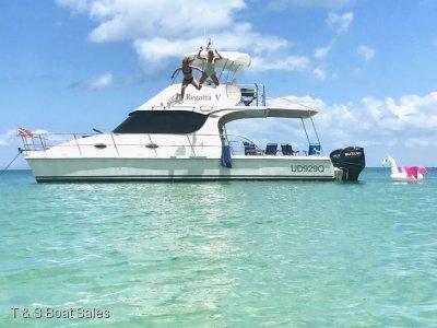 Cruisecat 35 Extended flybridge model 38
