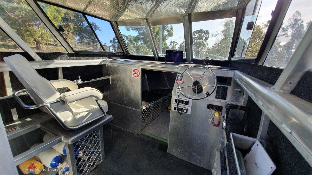 Mariner Aluminium 8m Workboat Interceptor