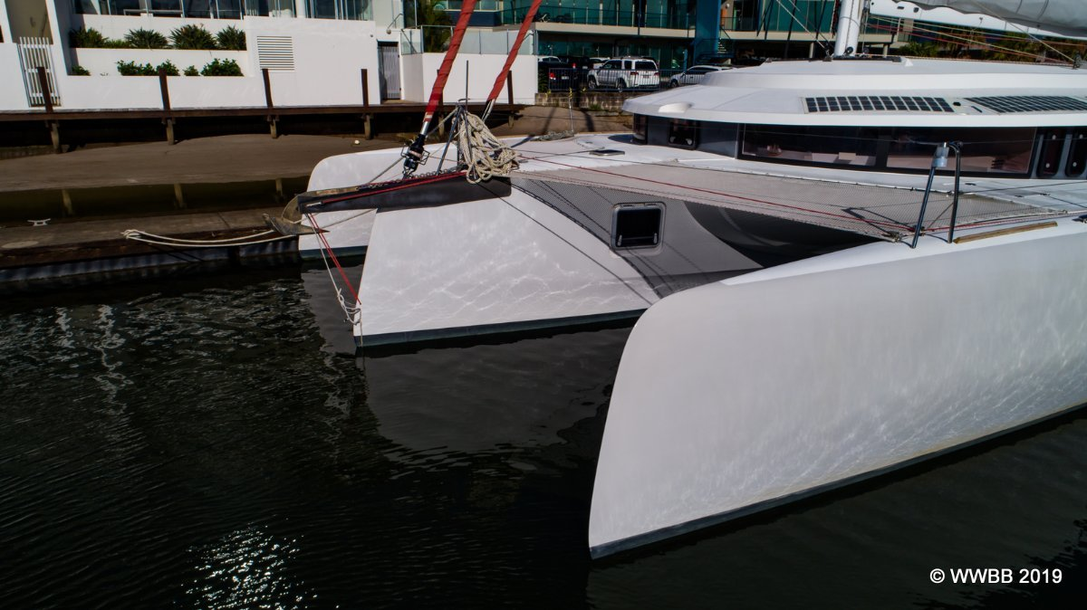 Neel Trimarans 45 - the only one available this side of the world.