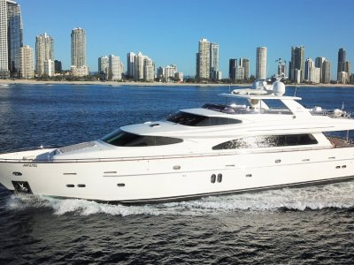 Horizon Yacht Rp97 Raised Pilothouse Motor Yacht