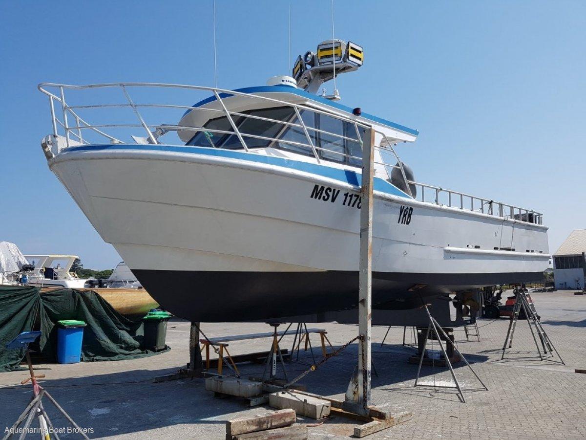 Schwetz Design Fishing & Charter Vessel 11.99m Aluminium 2013 Build