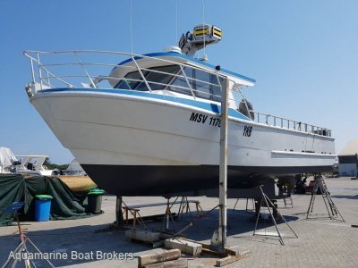 Schwetz Design Fishing & Charter Vessel 11.99m Aluminium 2013 Build