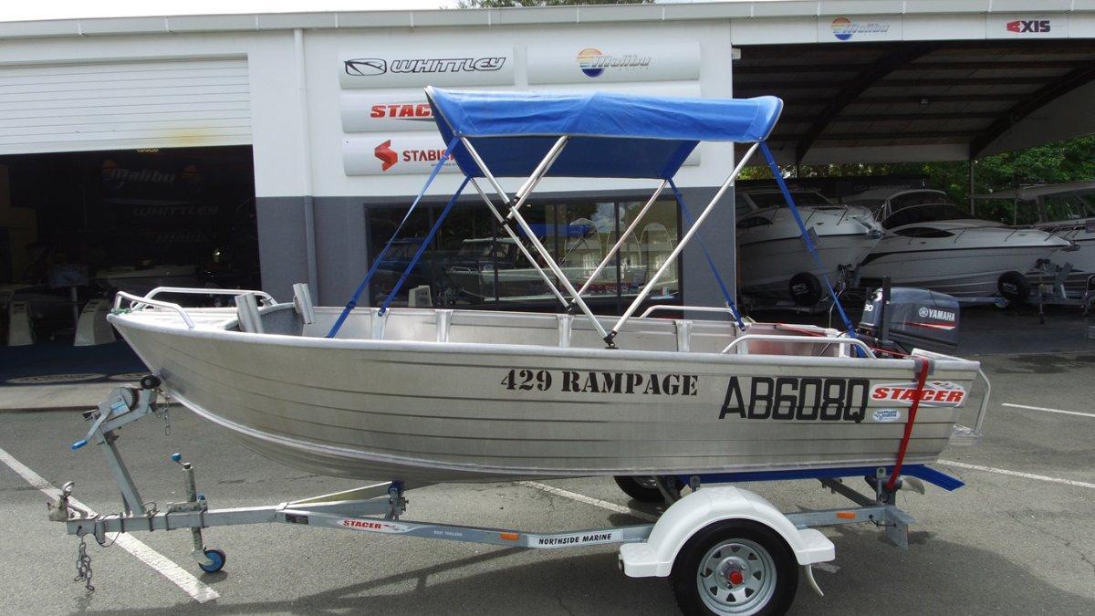Stacer 429 Rampage + Yamaha 30HMHL