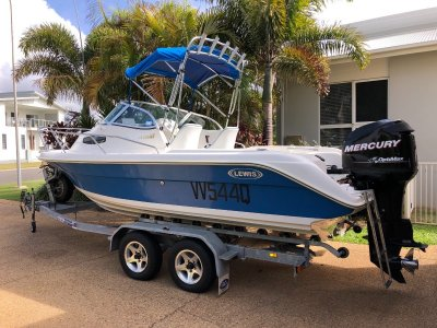 Lewis Boats 590WR Kingfisher