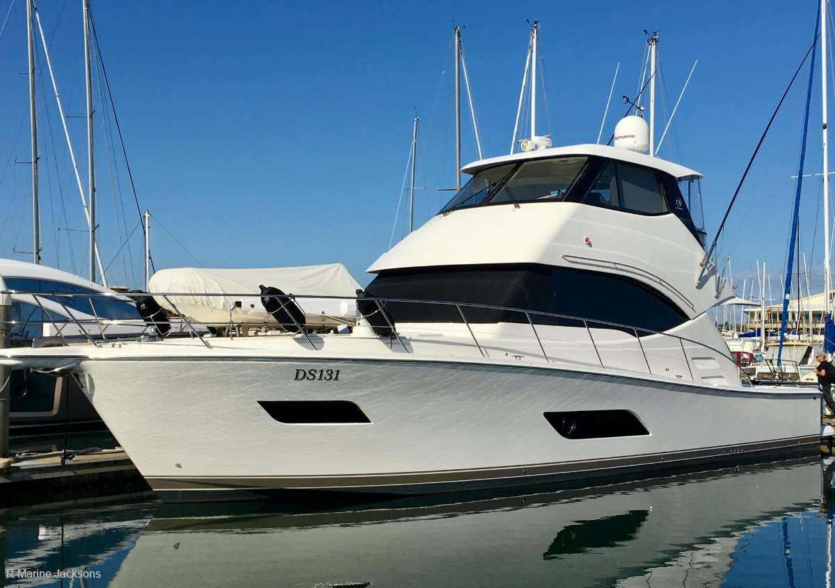 Riviera 50 Enclosed Flybridge:Riviera 52 for sale - R Marine Jacksons