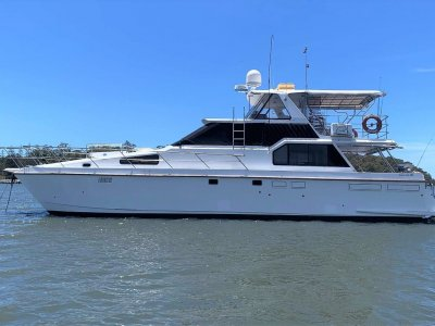 Ocean Trek 52 Flybridge Cruiser Power Catamaran