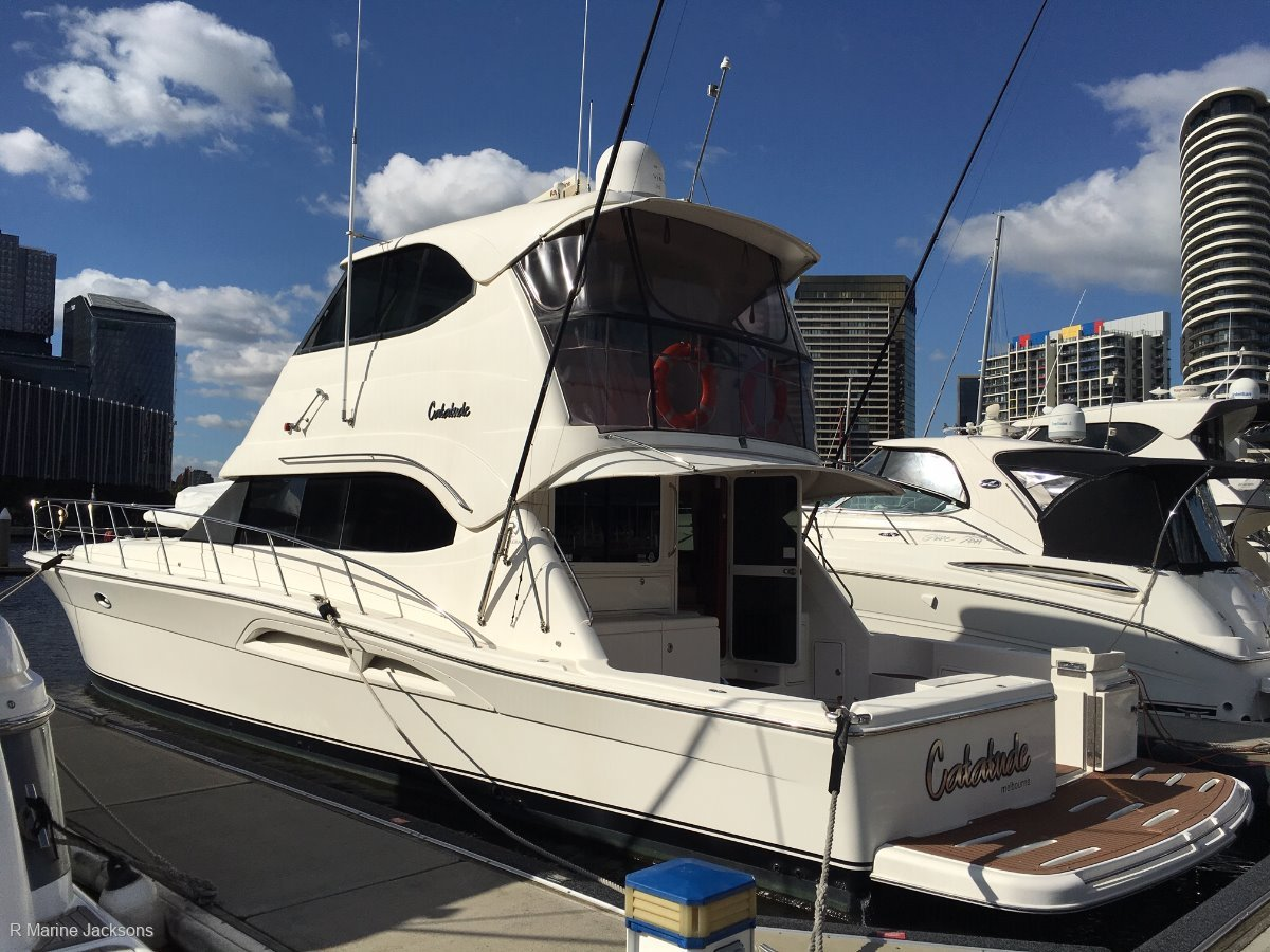 Riviera 51 Enclosed Flybridge:Riviera 51 For sale @ R Marine Jacksons