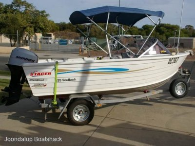 Stacer 455 Seahawk Sports 50hp Mercury 193 hours