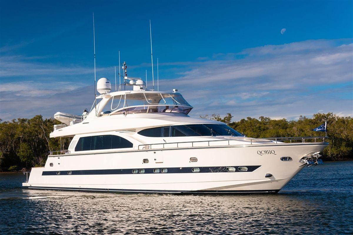 Horizon 84 Yacht Fisher