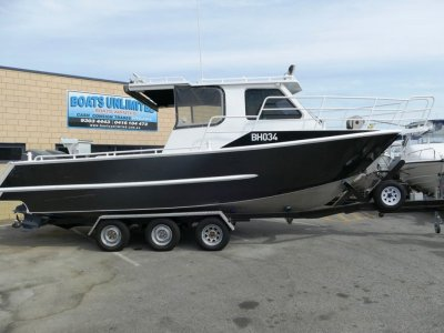 Barrington 800 HARDTOP BIG OPEN BOAT FISHING FANATIC WELCOME!- Click for more info...