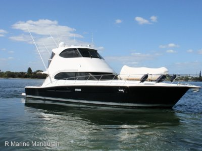 "Riviera 51 Enclosed Flybridge *** MONTEBELLO""S HERE WE COME *** $849,000 ***"