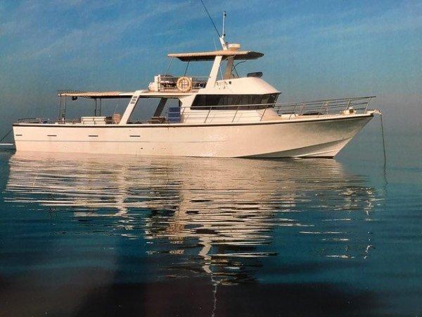 Sea Chrome Marine Conquest 55 Charter