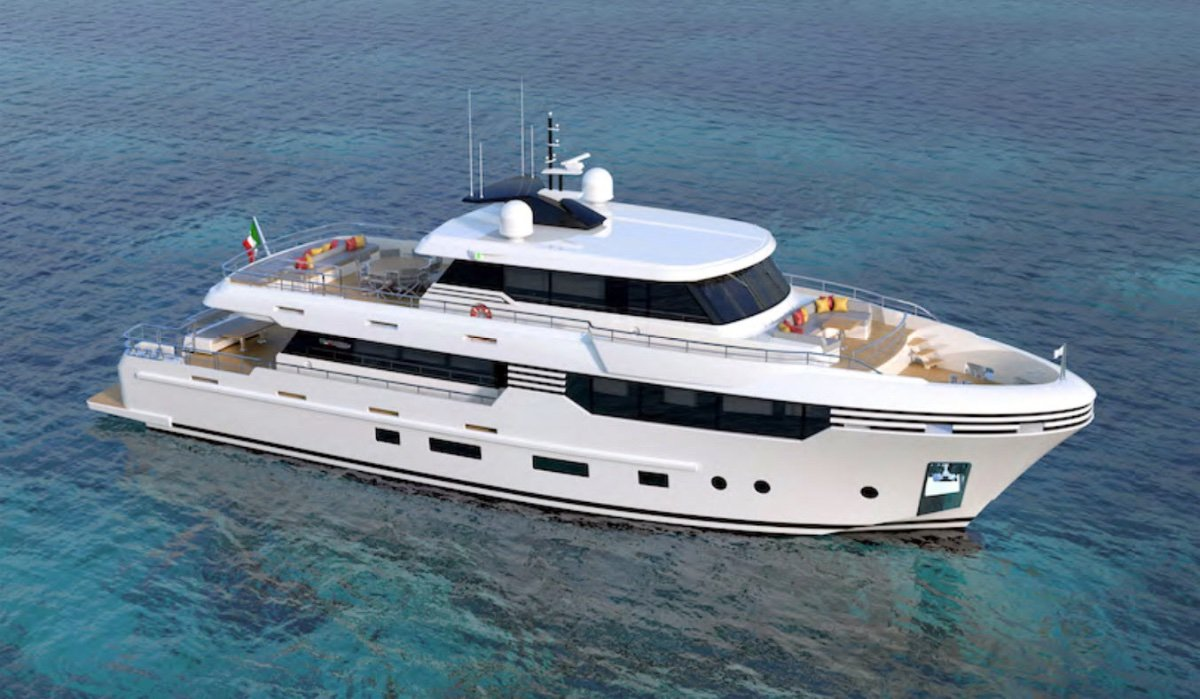 28m Motoryacht - Luxury Long Range Cruiser