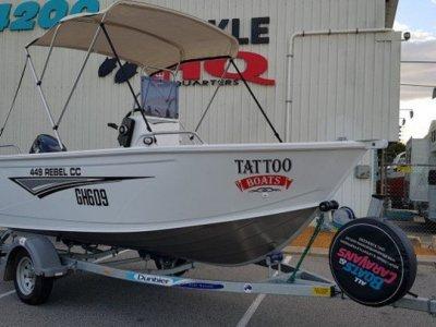 Tattoo Boats 449 Rebel C/C