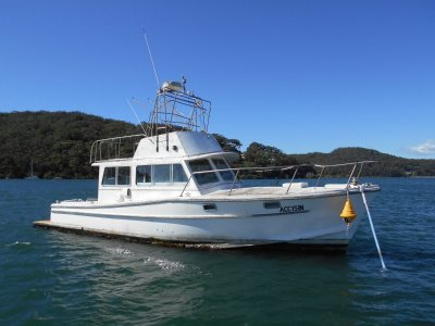 Masters 35 Extended Ex Charter vessel Paymnet plan can do