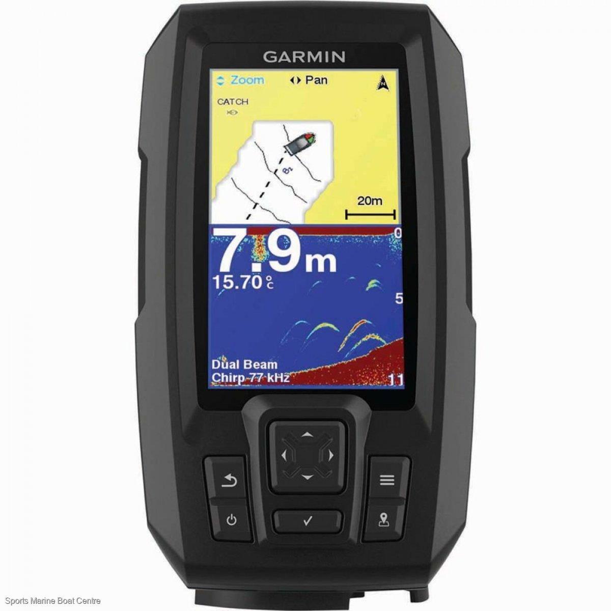 Garmin Striker Plus 4 fishfinder with GPS