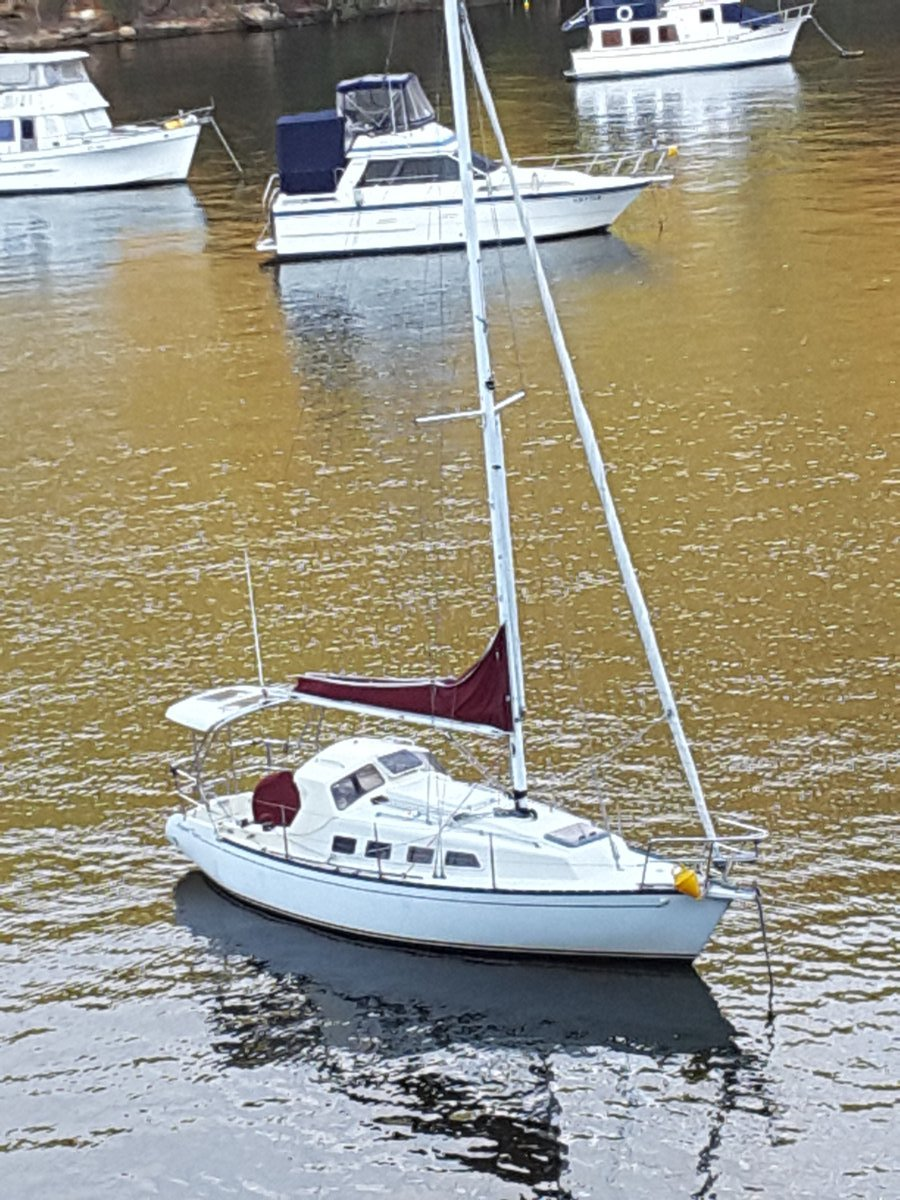 Marauder 823 Custom Modified 29 ft Sloop