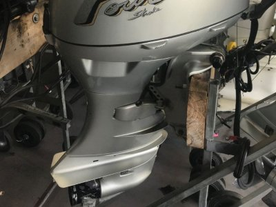 Authentic 40HP Honda Outboard Motor 4 stroke S1627
